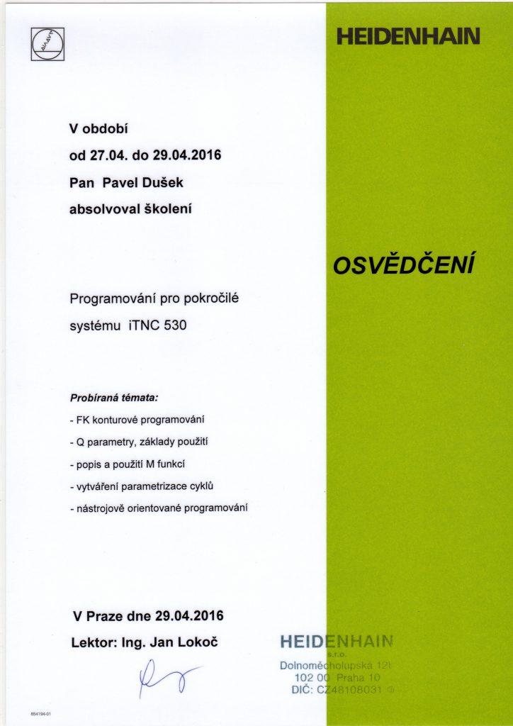 CNCPROGRAMOVANI-osvědčení CNC programování pro pokročilé